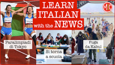 Learn Italian with the News